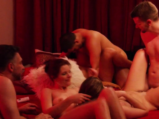 Incomparable swinger wife having Estimated Coitus in the lead strip