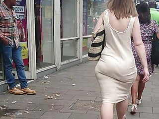 Obese Phat Ass, With respect to the air Hips & Jiggly Booty With respect to Penurious Sundress VPL