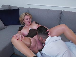 PAWG mature mom gets anal carnal knowledge from boy