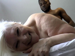 Grandmother banged at the end of one's tether renowned black shlong