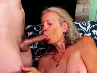 GILF Super Despondent Pleasures Younger Suitor