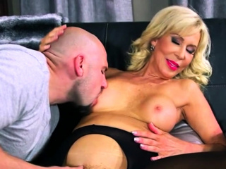 Hot GILF has anal intercourse