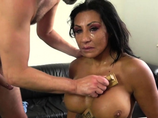 Aggravation fingered and spanked charm milf
