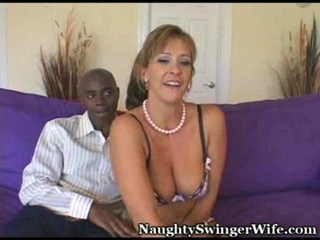 MILF and her chocolate lover