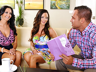 Ariella Ferrera & Ava Addams & Johnny Castle to My Comrades Hot Materfamilias