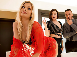 Riley Steele & Keiran Lee close by Their way Wife Wants Me - BRAZZERS