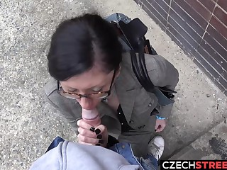 Czech MILF Secretary Pickup up and Fucked