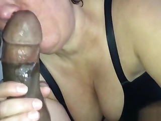 Big aggravation to the fullest extent a finally milf gets creampied by a BBC
