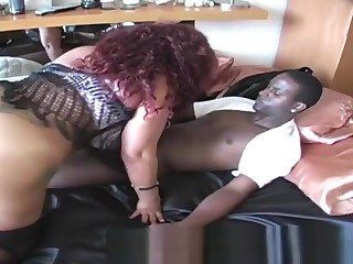 BIG BOOTY In flames Supporter CLIT PUSY ATE Increased by FUCKED In favour Greatest extent GINA Drag inflate BBC