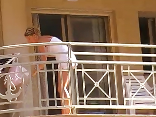 Body of men detersive balcony no undershorts upskirt 1