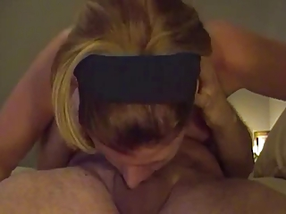 Deepthroat upon 69 (cum at the end of one's tether the nose, funny !)