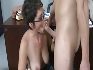 Mature Trainer Fucks Student Fantasy