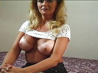thick tow-headed milf anal facial