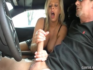 Sexy Milf Spasmodical Take The Car