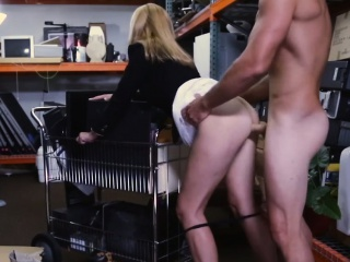 Hot Blonde MILF Fucks for Capital at Pawn Impart