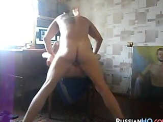 Russian Slut Docile Together with Fucked