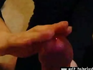 Gross handjob my milf wife Chrissy